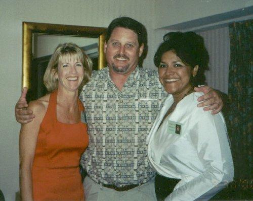 Donna Johnson-Kleckner, Danette Miranda-Bouye, and Bruce Maire