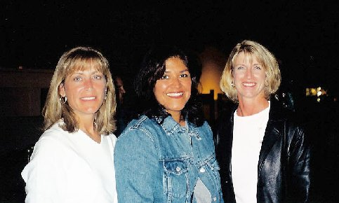 Michele Knudsen, Danette Bouye, and Donna Johnson-Kleckner