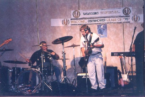 Stone Jam, Don Holm on guitar and Randy Childs on drums