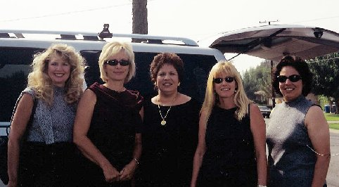Jean and Julie Aguilera with Karen Finneran, Cathy Nece-Thomas, and Jeri Lindberg-Altona